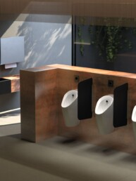 Urinoir Preda met urinoirsturing - Touchfree Toilet