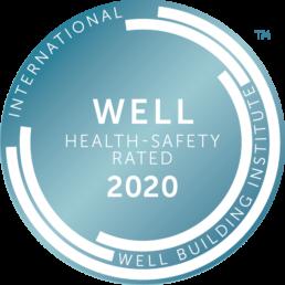 WELL Health-Safety 2020 logo - Touchfree Toilet